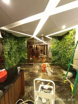 Tukang taman vertikal garden sintetis vertical sintetis