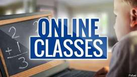 Online Classes/ Tutions Available
