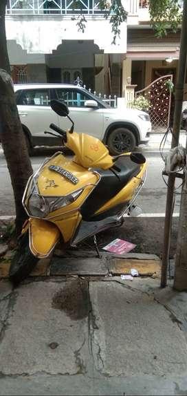 Yellow dio 15000 km run sale for 42 k