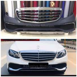 Mercedes Benz C/ E Class front bumper with grill