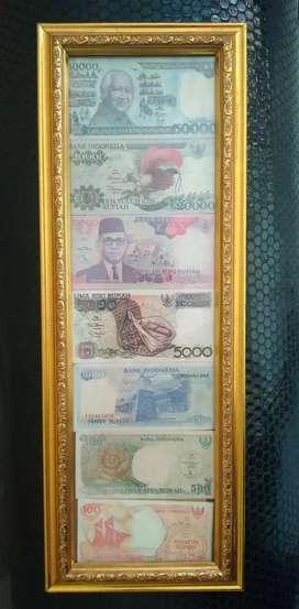 Uang kuno 1 set