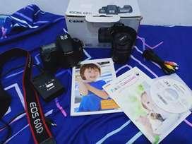 Camera canon 60D mulusss