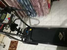 4 IN 1 MOTORIZED TREADMILL WITH STABILIZER