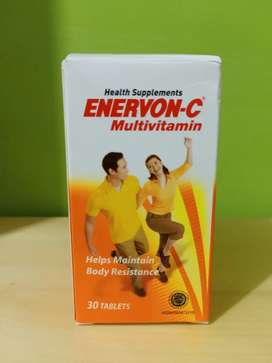 Enervon-C Multivitamin 30 Tablets Expired 2022 Murah