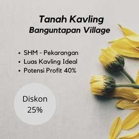 Promo Diskon Harga 25%  Banguntapan Village Dekat JL PLeret