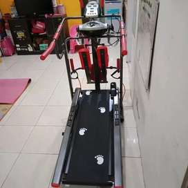 Treadmill Manual 7 Fungsi Best Seller / Efektif Bakarlemak/Alat Fitnes