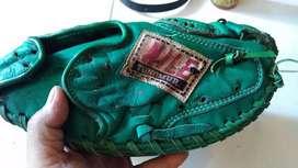 sarung base ball kulit Nile hijau jadul vintage antik lawas kuno rare