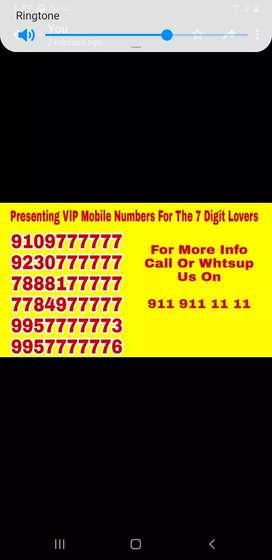 Premium numbers of india