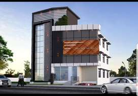 Building for rent at NH main road side