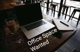 Wanted office  space for a  startup  at Kochi,Ernakulam