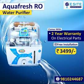 Mega sell on AQUAFRESH RO water purifier