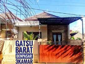Rumah Ready 3 Kamar Gatsu Barat Denpasar Bali