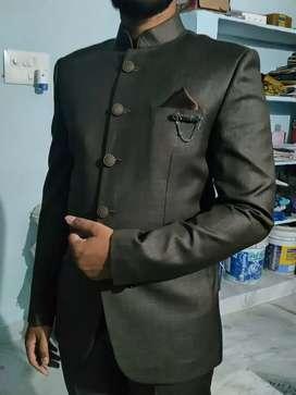 Jodhpuri (Dark colour) suit and coat