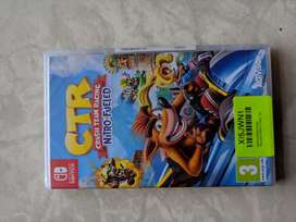 Brand new and sealed Crash Team Racing Nintendo Switch at 2300