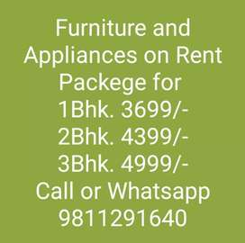 Furniture and Appliances on Rent