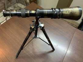 Antique Brass Stand Telescope Ottway London 1941