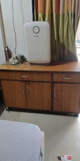 Wooden Showcase/ Storage Cabinet