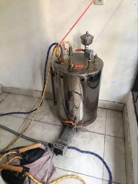 Setrika Uap - Kompor Gas Merek Rinnai 25 Liter (Setrika Laundry)