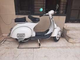 Vintage fully restored 45 years old bajaj 150