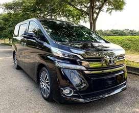 Toyota Vellfire G ATPM CBU Tahun 2015 ODO 42.xxx Record no Alphard G