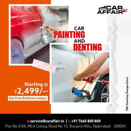 Car Denting & Painting Services by Car Affair