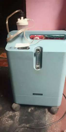 Bipap machine with heated humadif re and pxygen concentrator
