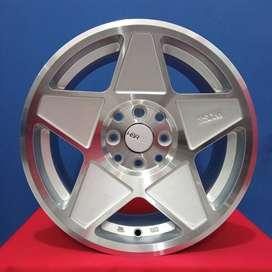 velg mobil brio hsr magical ring 15 / wheelskingdom surabaya