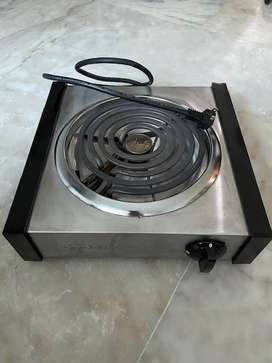 Table-top electric stove