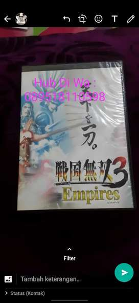 Kaset PS 3 Samurai Warriors Empires 3 ORI