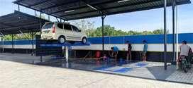 Hidrolik alat bantu cuci mobil kapasitas 4 ton