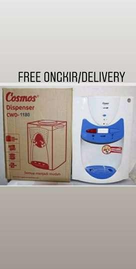 Free antar-Dispenser air meja Cosmos CWD-1180 Hot & Fresh Daya 385watt