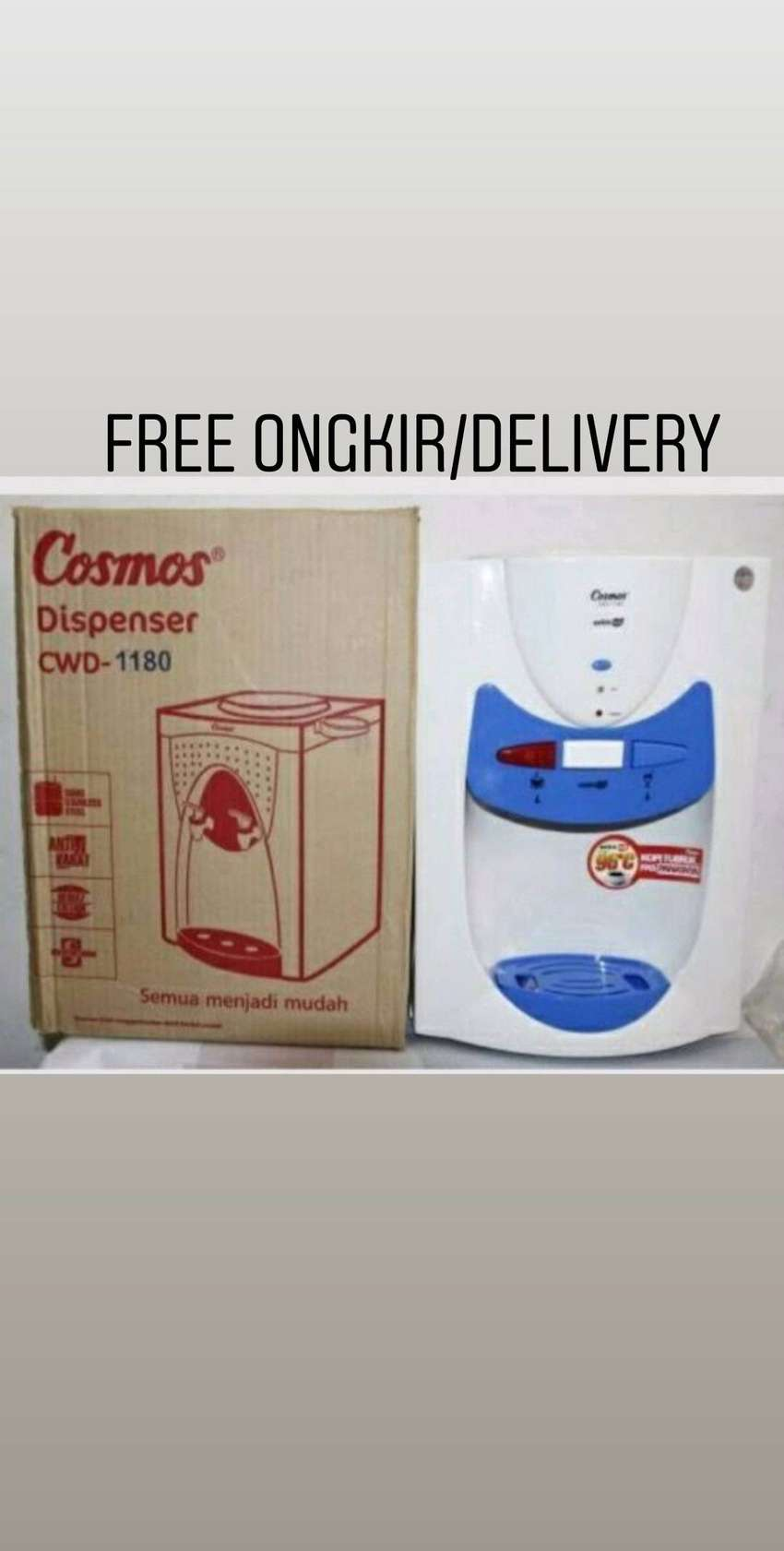Free antar-Dispenser air meja Cosmos CWD-1180 Hot & Fresh Daya 385watt 0