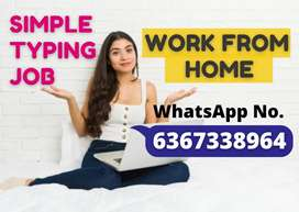 Earn weekly Rs.10k to Rs.14k by just typing in notepad from home.