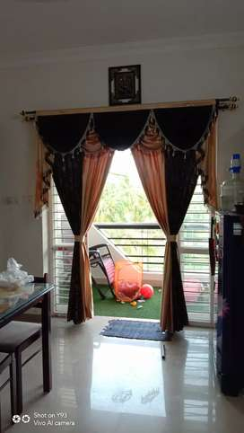 Curtains and mosquto net Lon and door type