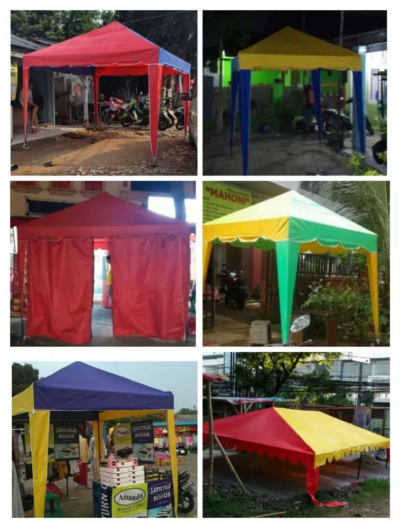 Assalamualaikum teteh tenda 2x2 murah buat usaha atau stanf bazar 0