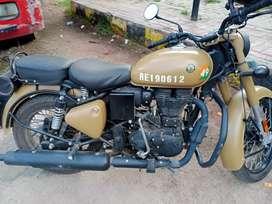 Royel infield classic 350 atom rider sand . Bs 6