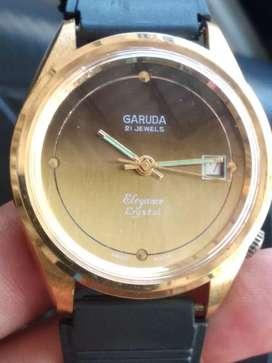 Jam Garuda elegance crystal original vintage