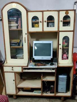 Computer table cum designer's Showcase