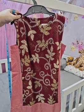 Dress batik merk Soure