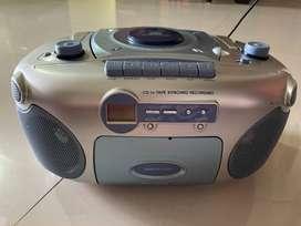 Sanyo CD Radio Cassette Recorder