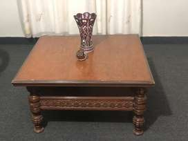 Two seater sofa and Coffee/centre table for sale