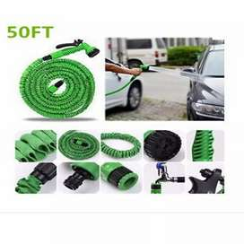 Magic Hose Expandable Water Pipe - 50ft - Green
