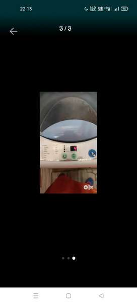 Fully automatic washing machine 5.8 kg Haier in full working condition