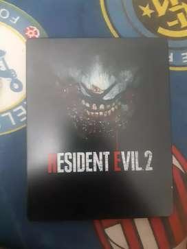 Resident Evil 2 Remake Steelcase PS4