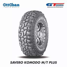 Ban mobil off-road Ukuran 33x12.5R20 GT radial savero komodo MT plus