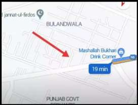7 marla plot on khanewal road near the multan alma schooll