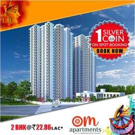 Pareena Om Apartments in DwarkaExpress - 2BHK Flats