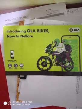 Bike riders required for Ola