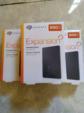 Seagate HDD eksternal 500GB