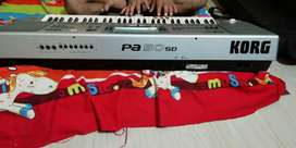 Korg pa 50 keyboard with heavy bag and stand and fully indiantone